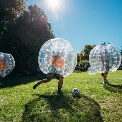 فوتبال حبابی و زیپلاین رایگان