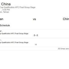 فوتبال ایران-چین رایگان شد
